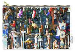 Woodcraft Giftshop In Montour Falls Carry-all Pouch
