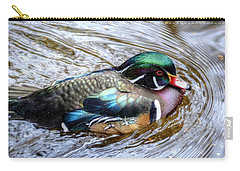 Woodduck Portrait Carry-all Pouch
