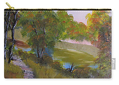 Wooded Scene Carry-all Pouch