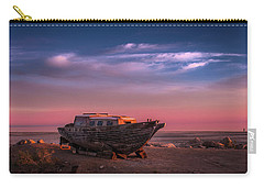 Wooden Boat Carry-all Pouch by Ralph Vazquez
