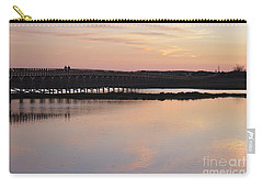 Wooden Bridge And Twilight Carry-all Pouch by Angelo DeVal