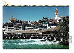 Wooden Bridge Carry-all Pouch by Mimulux patricia no No