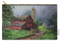 Wooden Cart Carry-all Pouch