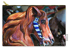 Wooden Horse Carry-all Pouch