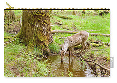 Woodland Caribou Carry-all Pouch by Sean Griffin