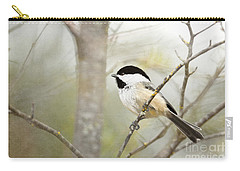 Woodland Fellow Carry-all Pouch by Beve Brown-Clark Photography