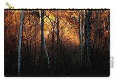 Woodland Illuminated Carry-all Pouch by Bruce Patrick Smith