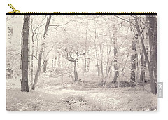 Carry-all Pouch featuring the photograph Woodland by Keith Elliott