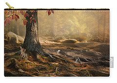 Woodland Mist Carry-all Pouch by Robin-Lee Vieira