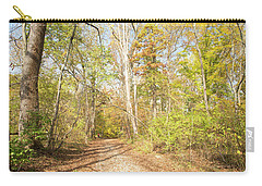 Woodland Path, Autumn, Montgomery County, Pennsylvania Carry-all Pouch