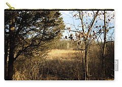 Carry-all Pouch featuring the photograph Woodland View  by Kimberly Mackowski