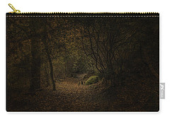Carry-all Pouch featuring the photograph Woodland Walk by Ryan Photography