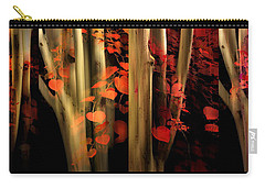 Carry-all Pouch featuring the photograph Woodland Whispers by Jessica Jenney
