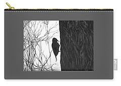 Woodpecker Carry-all Pouch by Anna  Duyunova