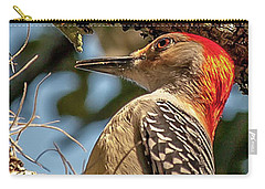 Woodpecker Closeup Carry-all Pouch