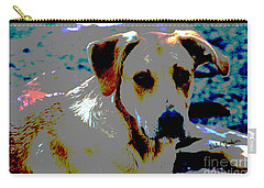 Woodrow The Pop Art Dog  Carry-all Pouch