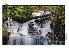 Woods And Waterfall Carry-all Pouch