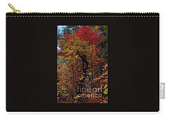 Carry-all Pouch featuring the photograph Woods In Oak Creek Canyon, Arizona by Frank Stallone