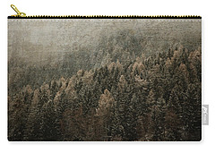 Woods In Winter Carry-all Pouch