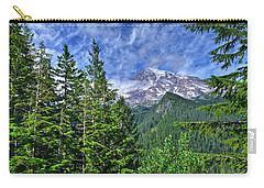 Woods Surrounding Mt. Rainier Carry-all Pouch