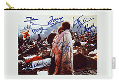 Woodstock Album Cover Signed Carry-all Pouch