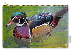 Sunny Wood Duck Carry-all Pouch