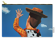 Woody Of Toy Story Carry-all Pouch by Paul Meijering