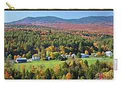 Worcester Vermont Autumn Carry-all Pouch