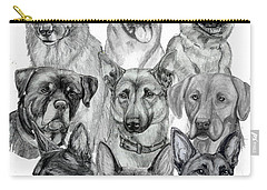 Working Dogs Of Florida Carry-all Pouch