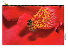 Carry-all Pouch featuring the photograph Working Hard 02 by Kevin Chippindall