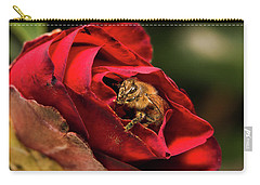 Carry-all Pouch featuring the photograph Working Hard 666 by Kevin Chippindall