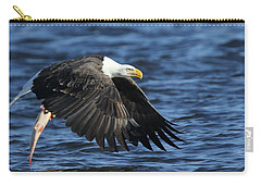 Carry-all Pouch featuring the photograph Working Hard For Dinner by Coby Cooper