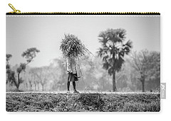 Working In The Lower Ganges Carry-all Pouch