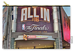 World Champion Cleveland Cavaliers Carry-all Pouch by Frozen in Time Fine Art Photography