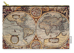 World Map 1636 Carry-all Pouch