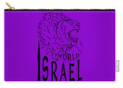 World Of Israel Carry-all Pouch