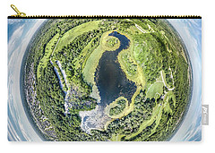 Carry-all Pouch featuring the photograph World Of Whitnall Park by Randy Scherkenbach