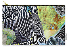 World Of Zebras Carry-all Pouch