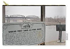 Worlds First Large All Steel Bridge Carry-all Pouch