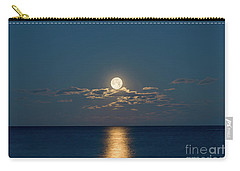 Worm Moon Over The Atlantic Carry-all Pouch