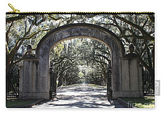 Wormsloe Plantation Gate Carry-all Pouch