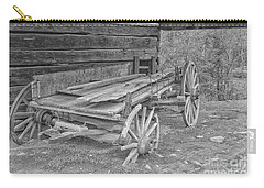 Worn And Broken Carry-all Pouch by Geraldine DeBoer