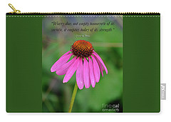 Worry Coneflower Carry-all Pouch