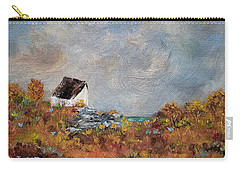 Carry-all Pouch featuring the painting Worth The Climb by Judith Rhue