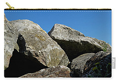 Worthing Beach Peaks Carry-all Pouch by John Topman