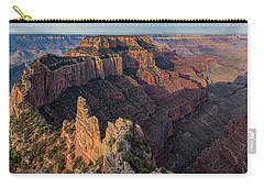 Wotan's Throne Panorama I Carry-all Pouch by David Cote