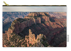 Wotan's Throne Panorama II Carry-all Pouch by David Cote