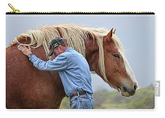Wrangler Jeans And Belgian Horse Carry-all Pouch