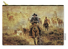 A Dusty Wyoming Wrangle Carry-all Pouch