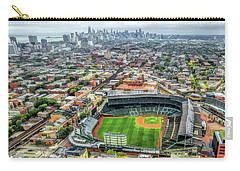 Wrigley Field Chicago Skyline Carry-all Pouch